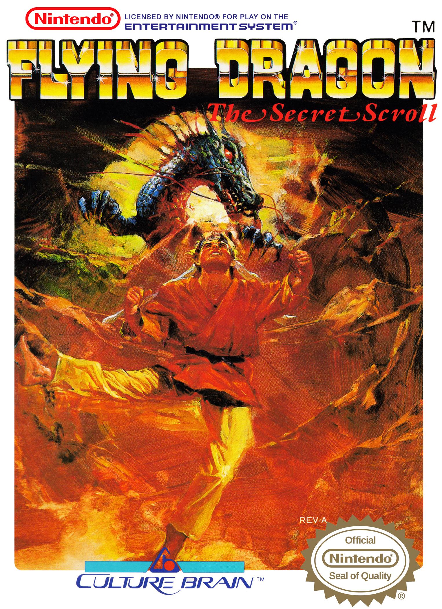Flying Dragon The Secret Scroll/NES