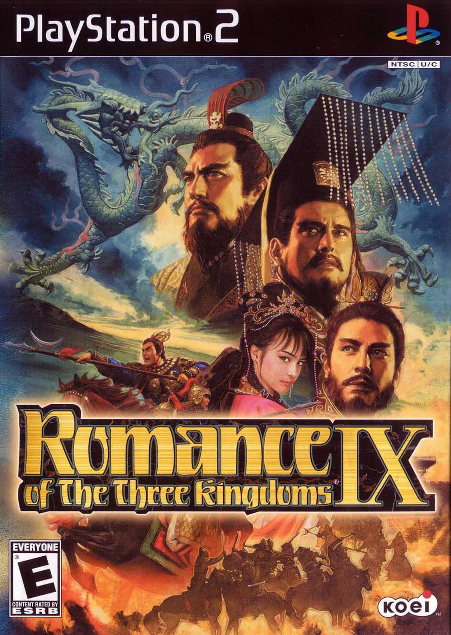 Romance of the three kingdoms IX/PS2