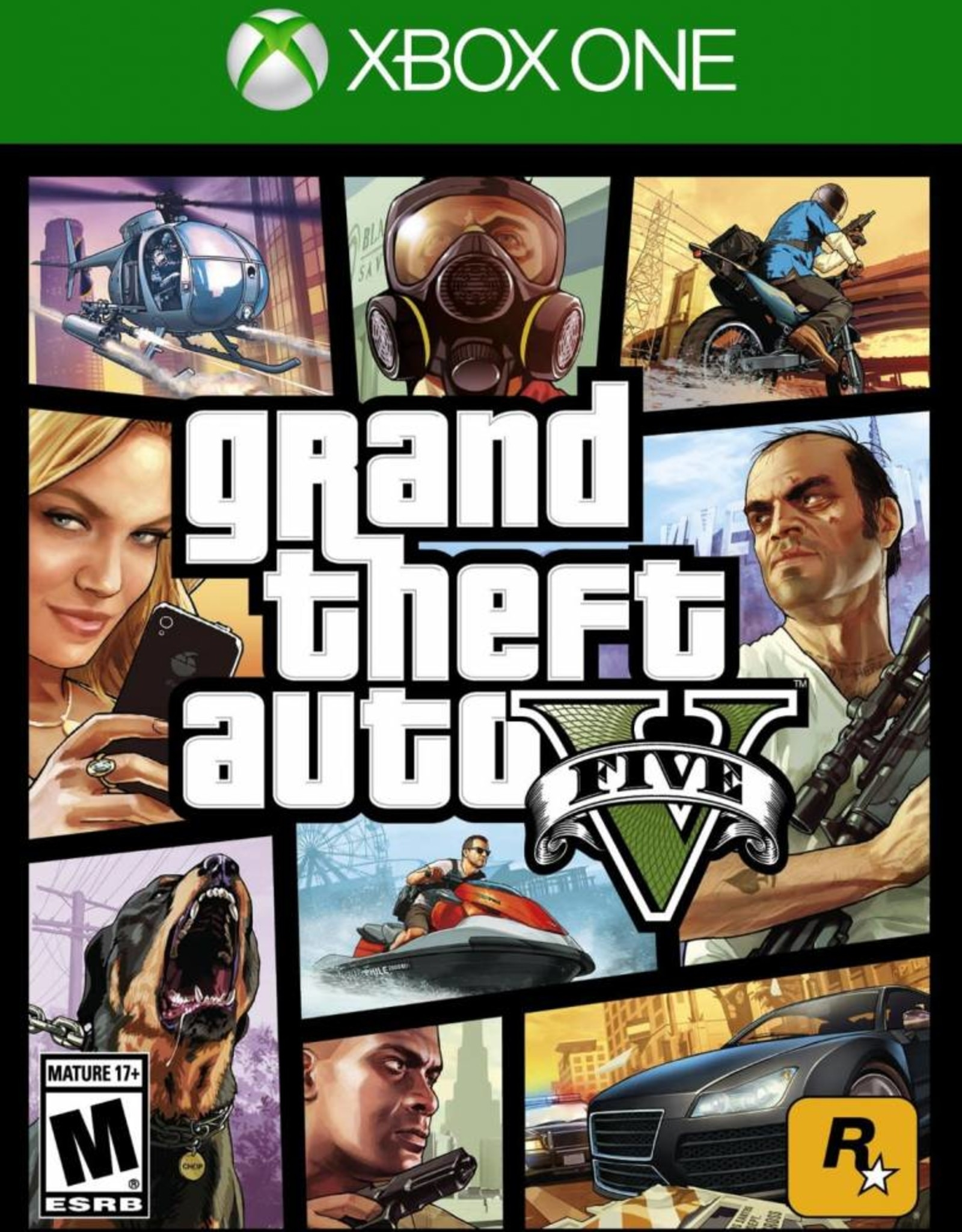 Grand Theft Auto V/Xbox One