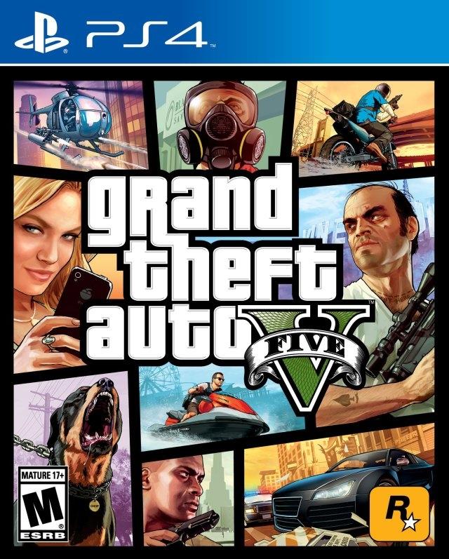 Grand Theft Auto V/PS4