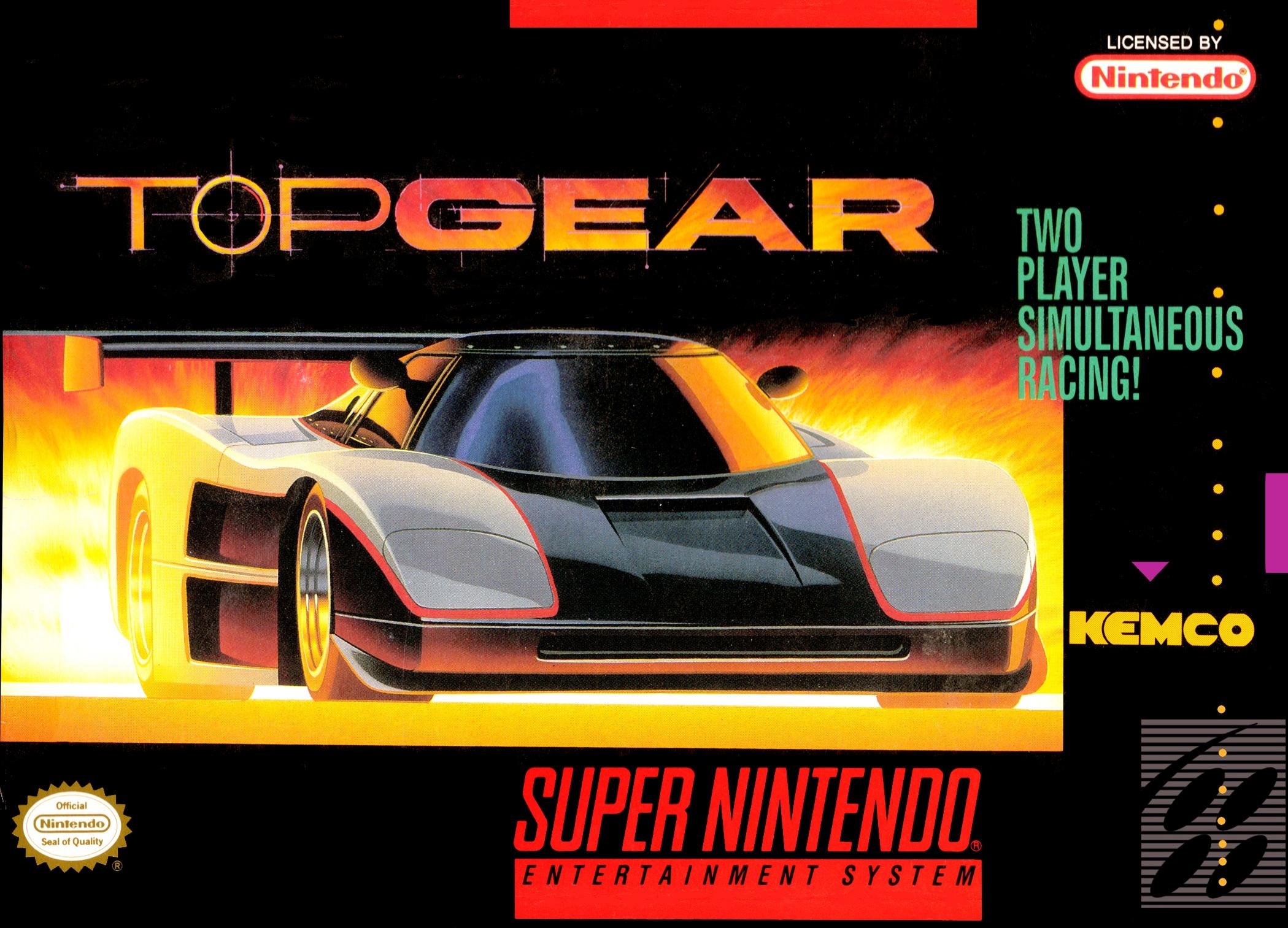 Top Gear/SNES