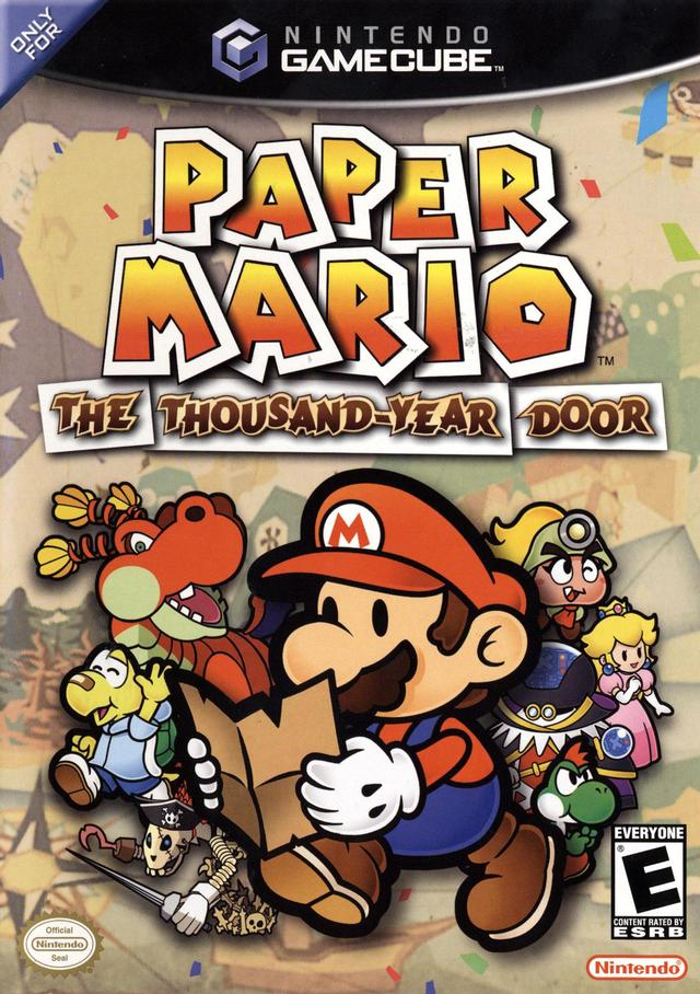 Paper Mario The Thousand-Year Door/Game Cube