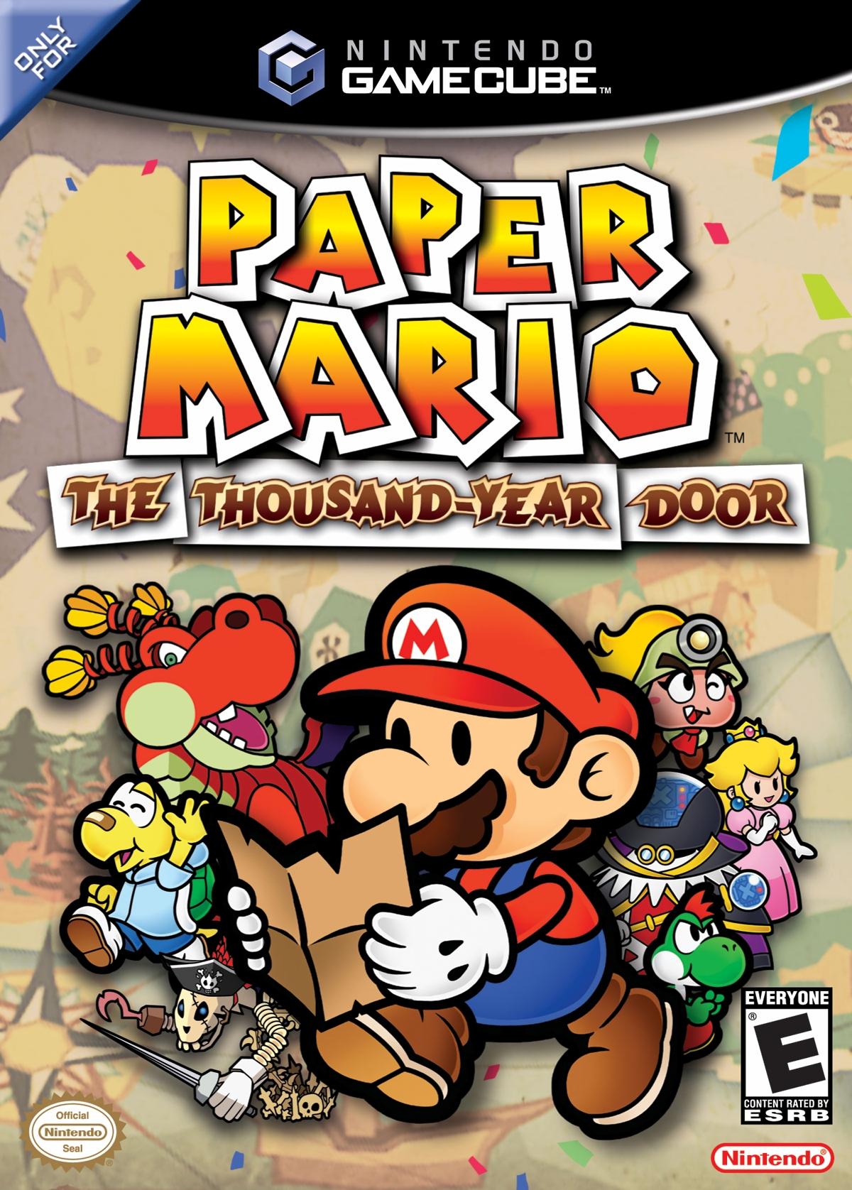 Paper Mario The Thousand-Year Door/GameCube