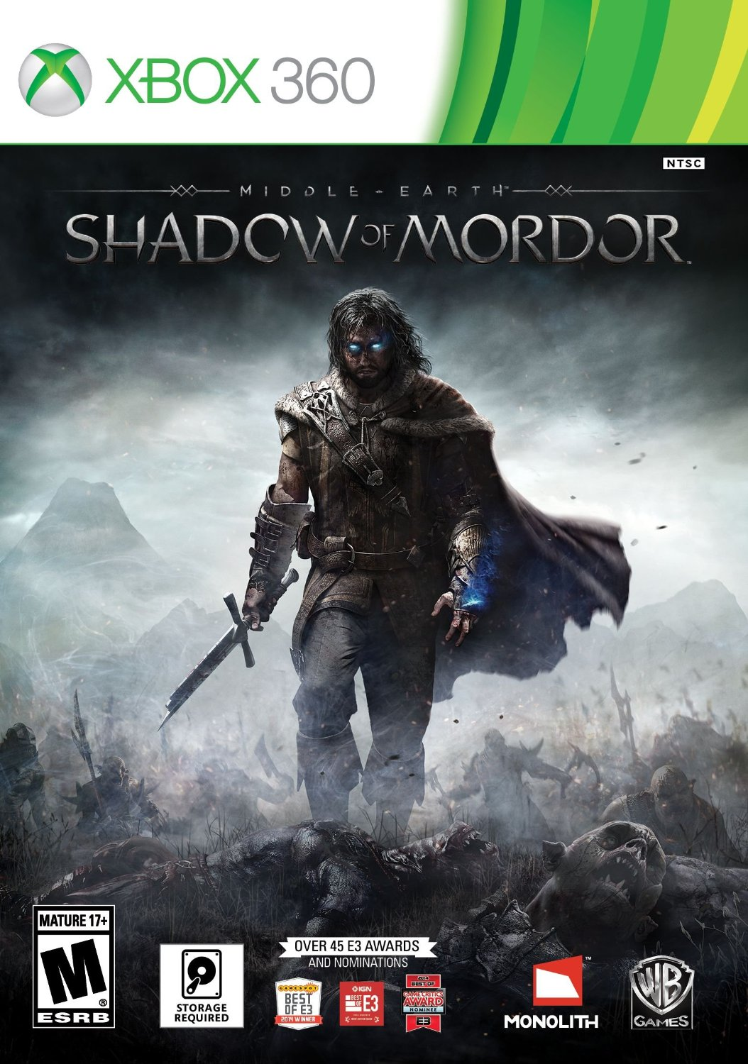 Middle-Earth Shadow Of Mordor/Xbox 360