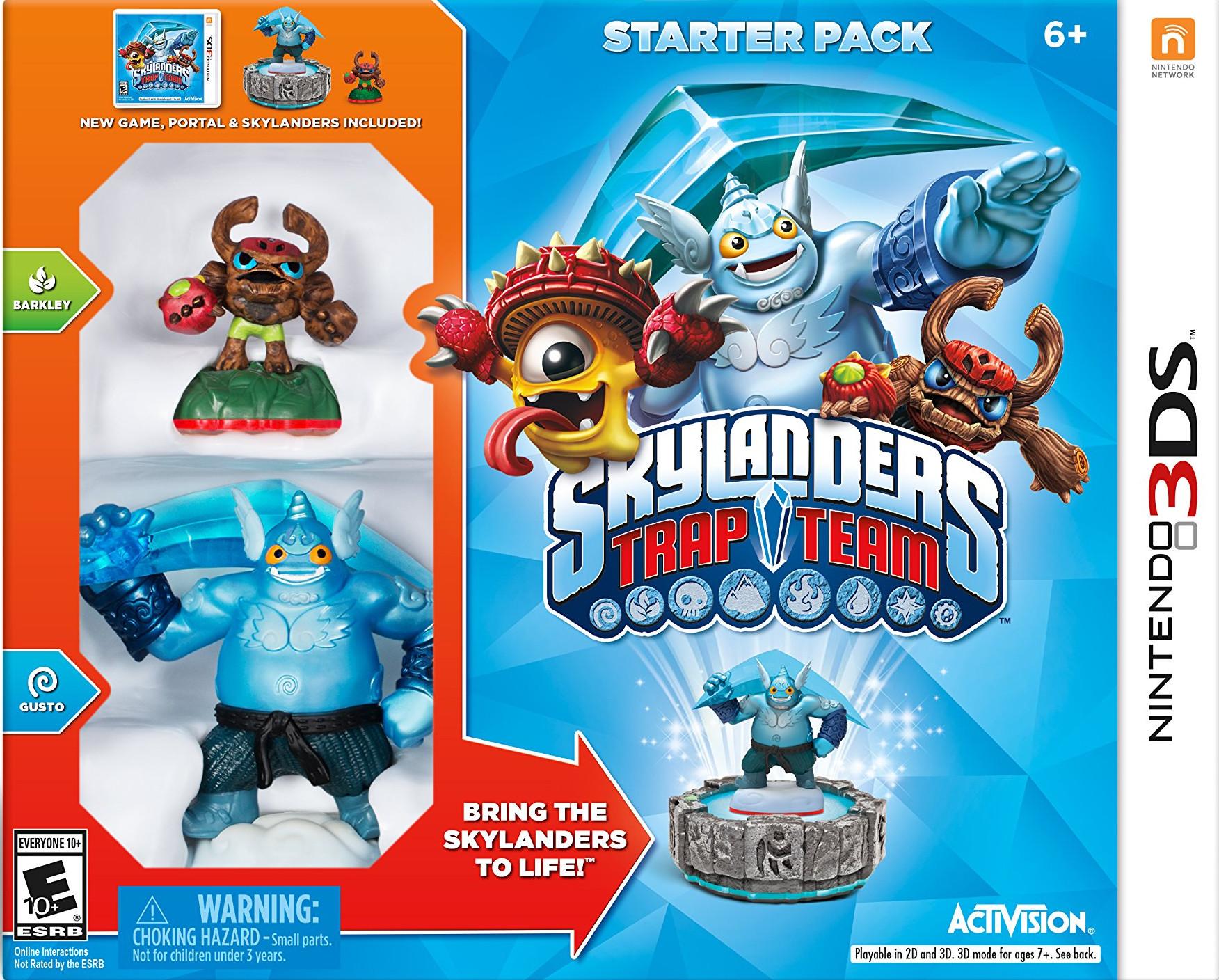 Skylanders Trap Team Starter Pack/3DS