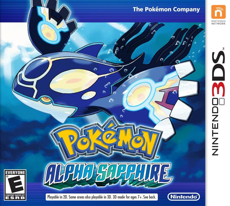 Pokemon Alpha Sapphire/3DS