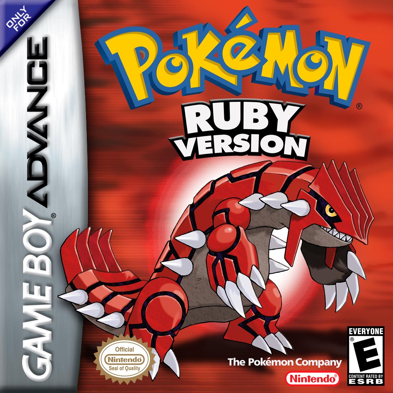 Pokemon Ruby/GBA