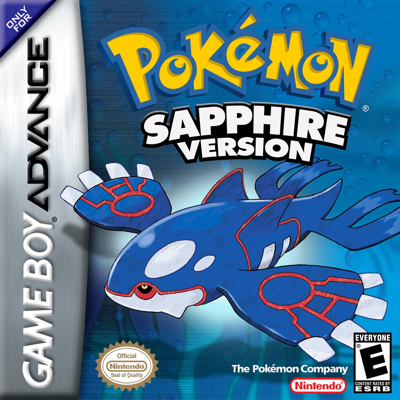 Pokemon Sapphire/GBA