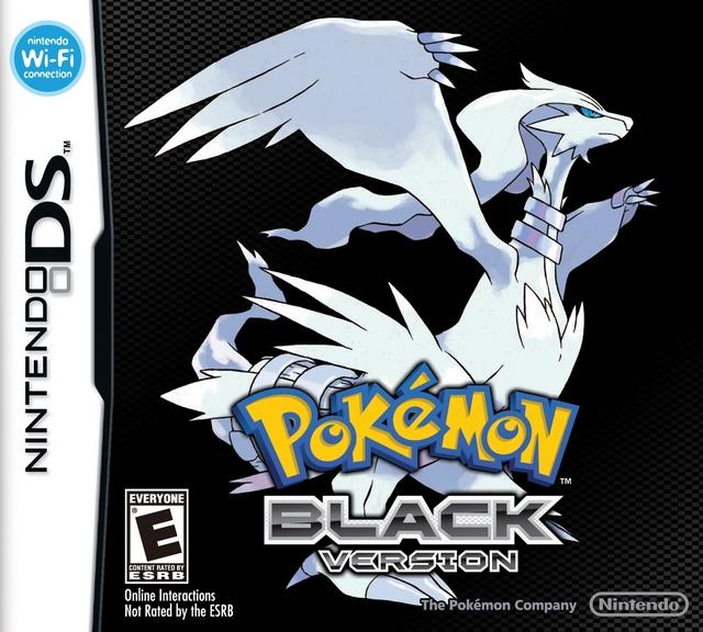 Pokemon Black Version Anglais/DS