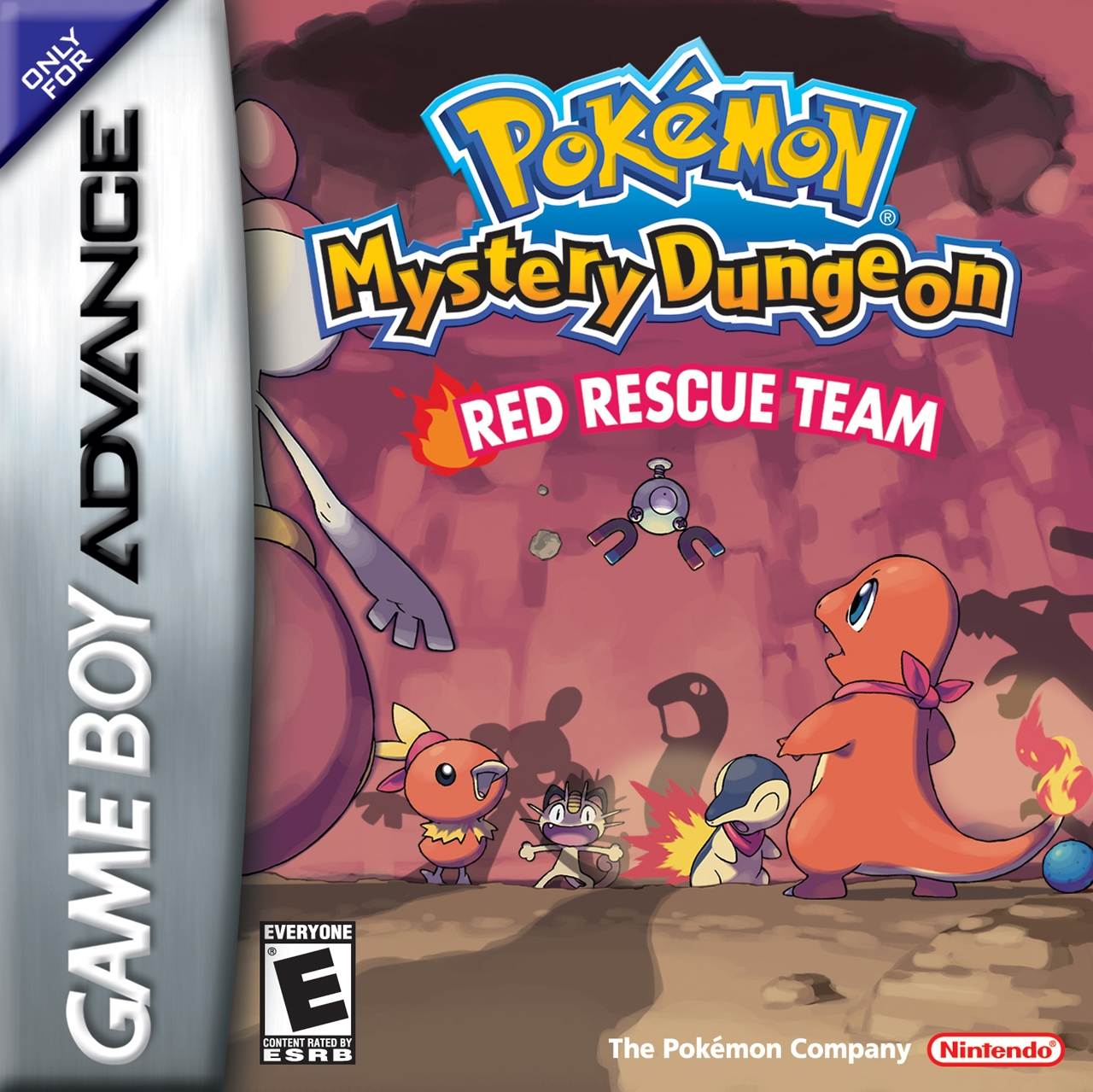 Pokemon Mystery Dungeon Red Rescue Team/GBA