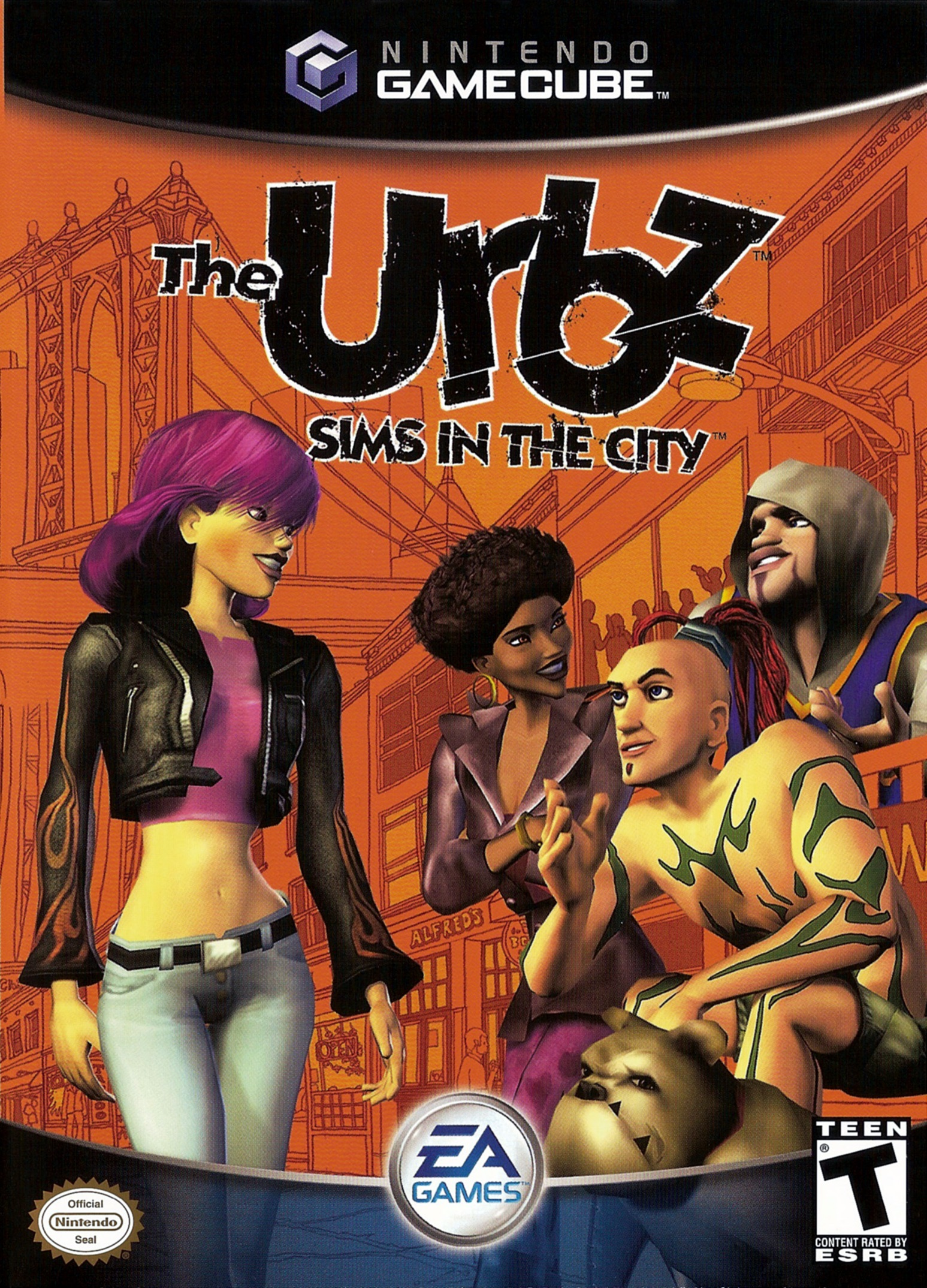 The Urbz Sims In The City/Game Cube