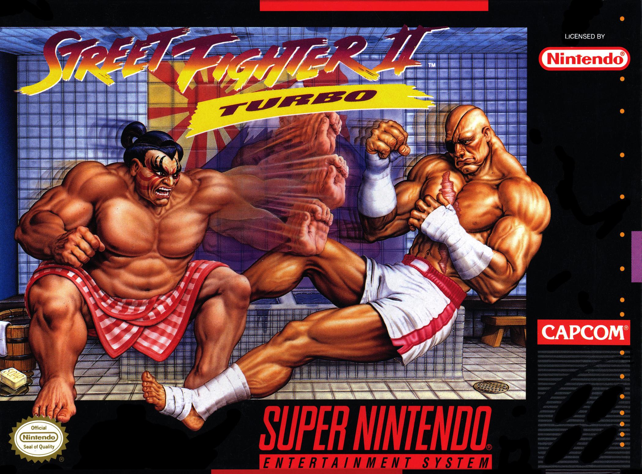 Street Fighter II Turbo/SNES