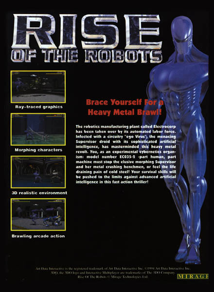 TGDB - Browse - Game - Rise of the Robots (Prototype)