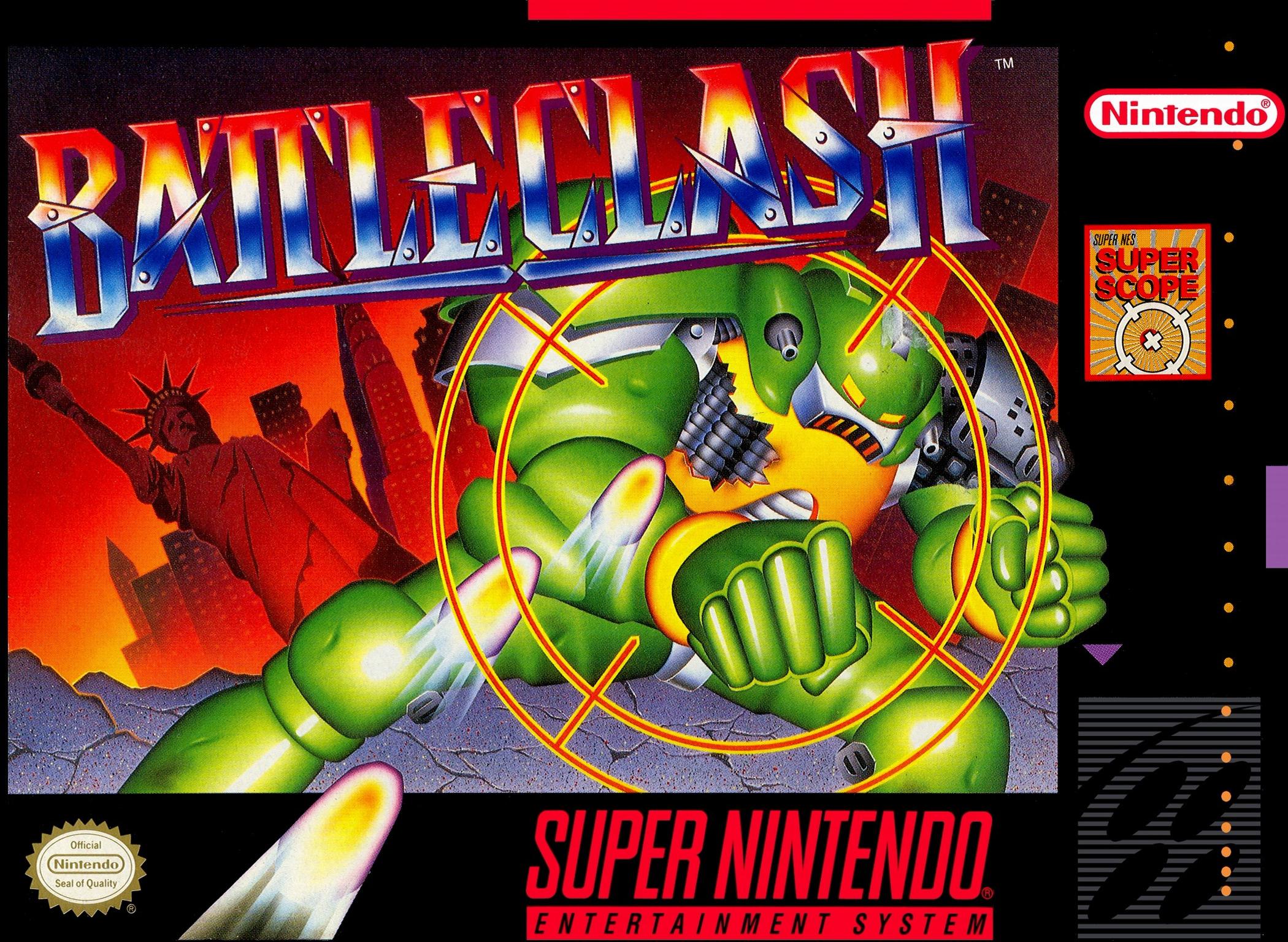 BattleClash/SNES