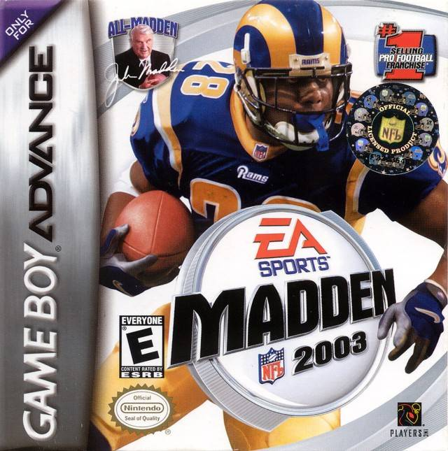 TGDB - Browse - Game - Madden NFL 2003