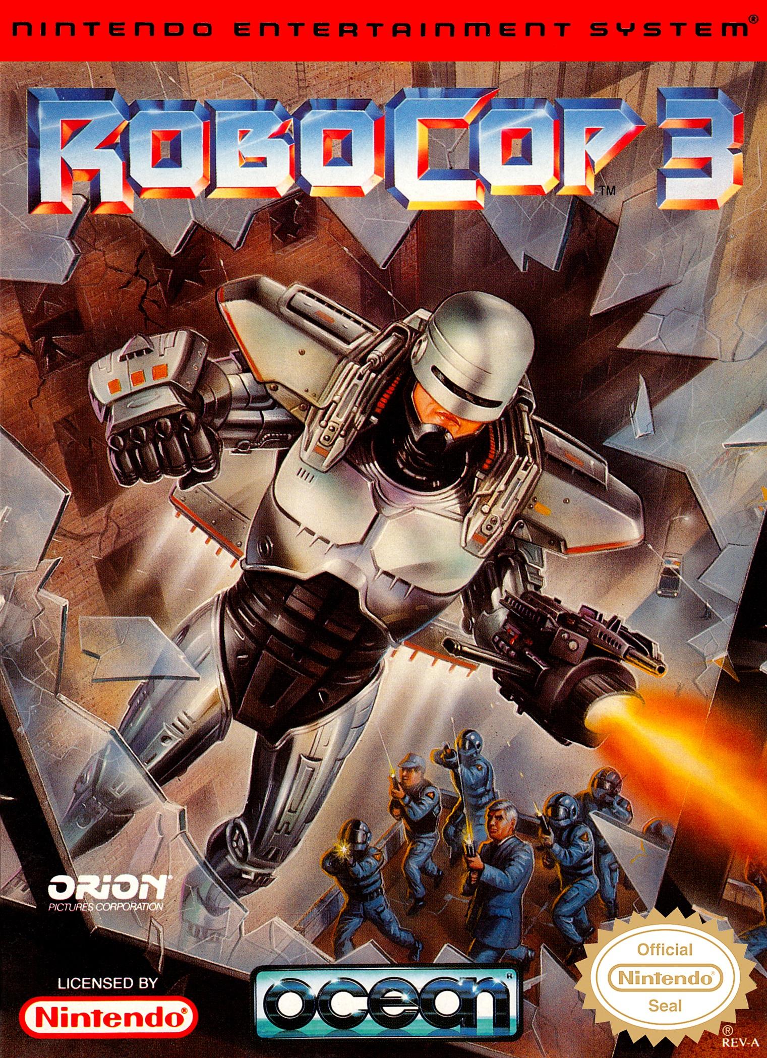 RoboCop 3/Nes