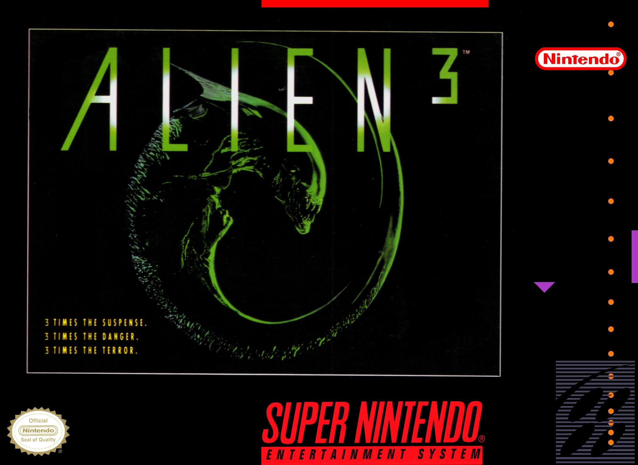 Alien 3/SNES
