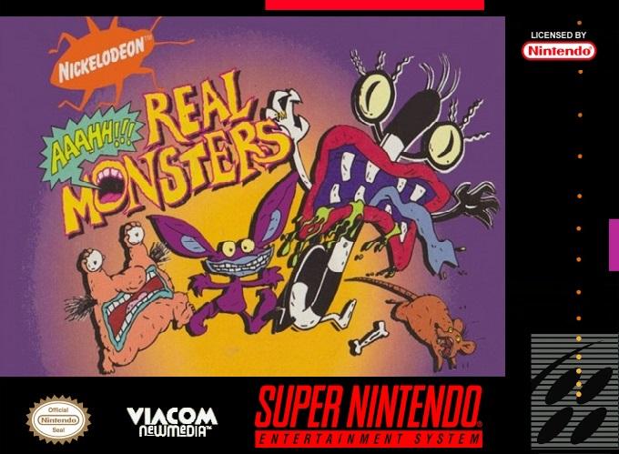 Aaahh!!! Real Monsters /SNES