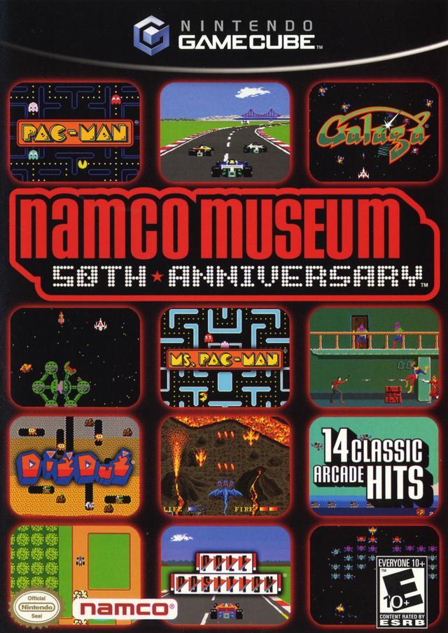 Namco Museum 50th Anniversary/Gamecube