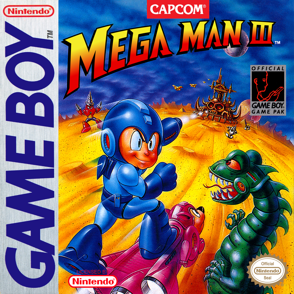 Mega Man III/Game Boy