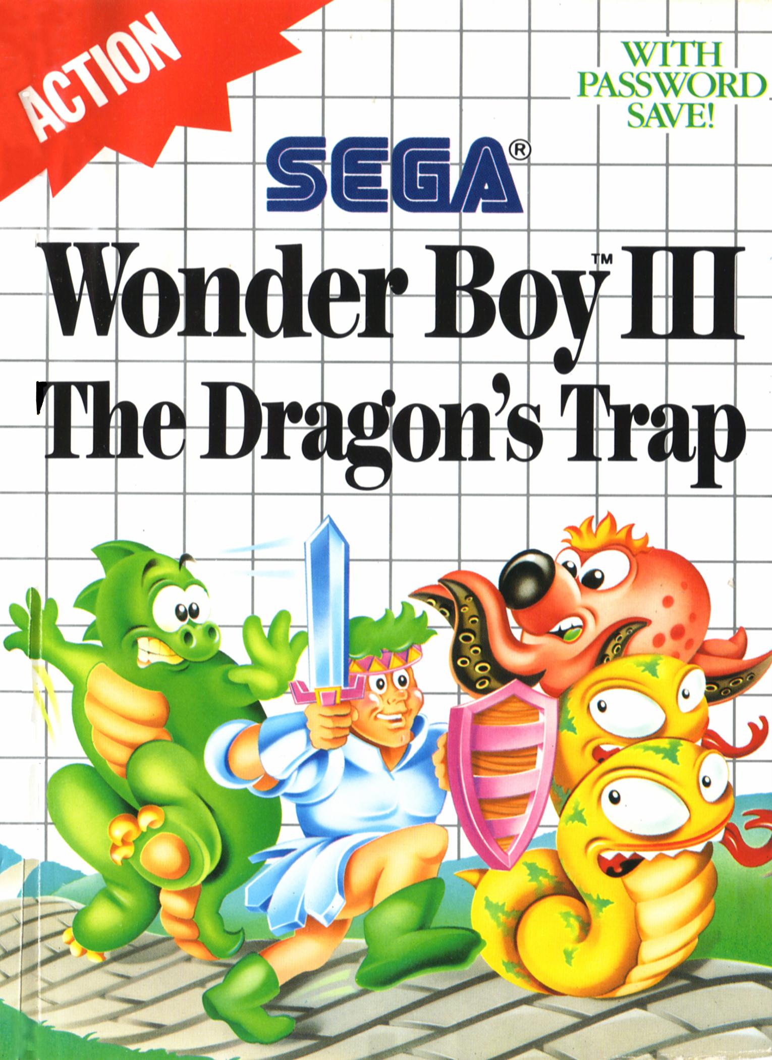 Wonder Boy III The Dragon's Trap/Sega Master