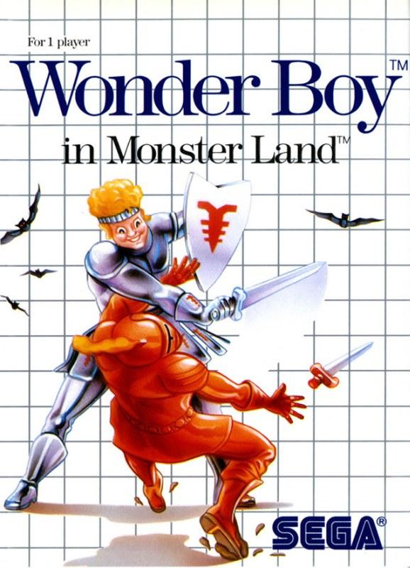 Wonder Boy in Monster Land/Sega Master