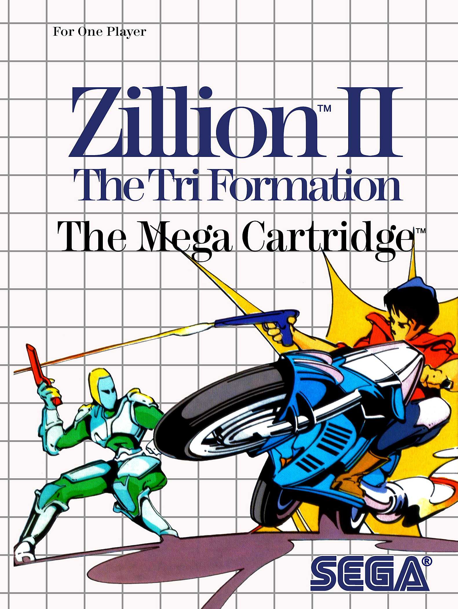 Zillion II The Tri-Formation/Sega Master System