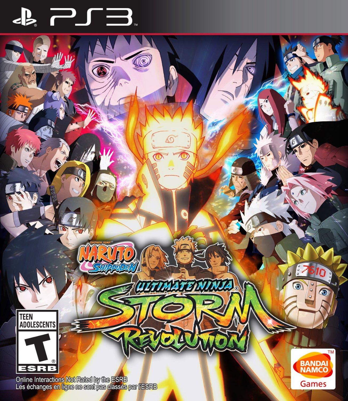 Naruto Shippuden Ultimate Ninja Storm Revolution/PS3