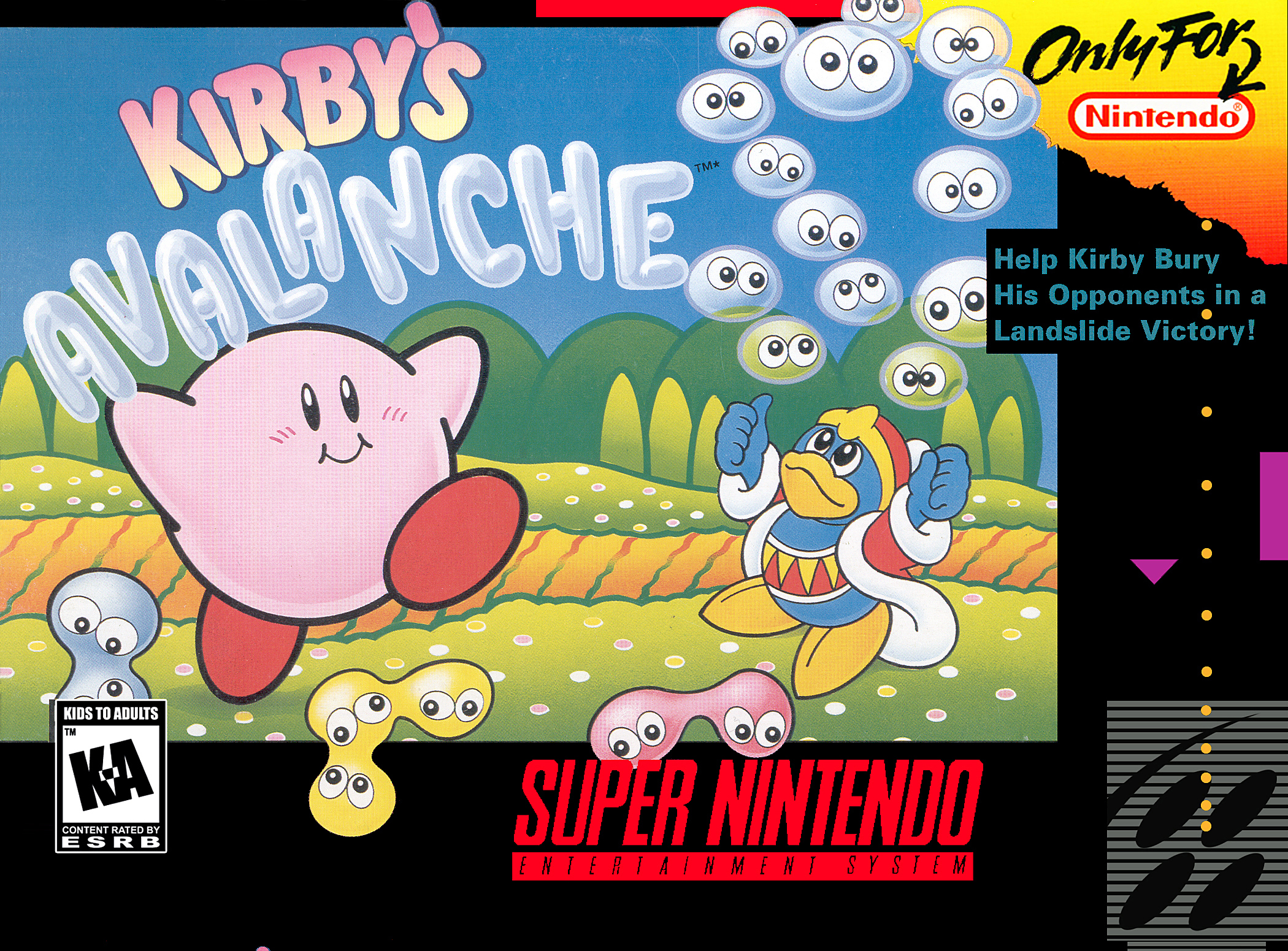 Kirby's Avalanche/SNES
