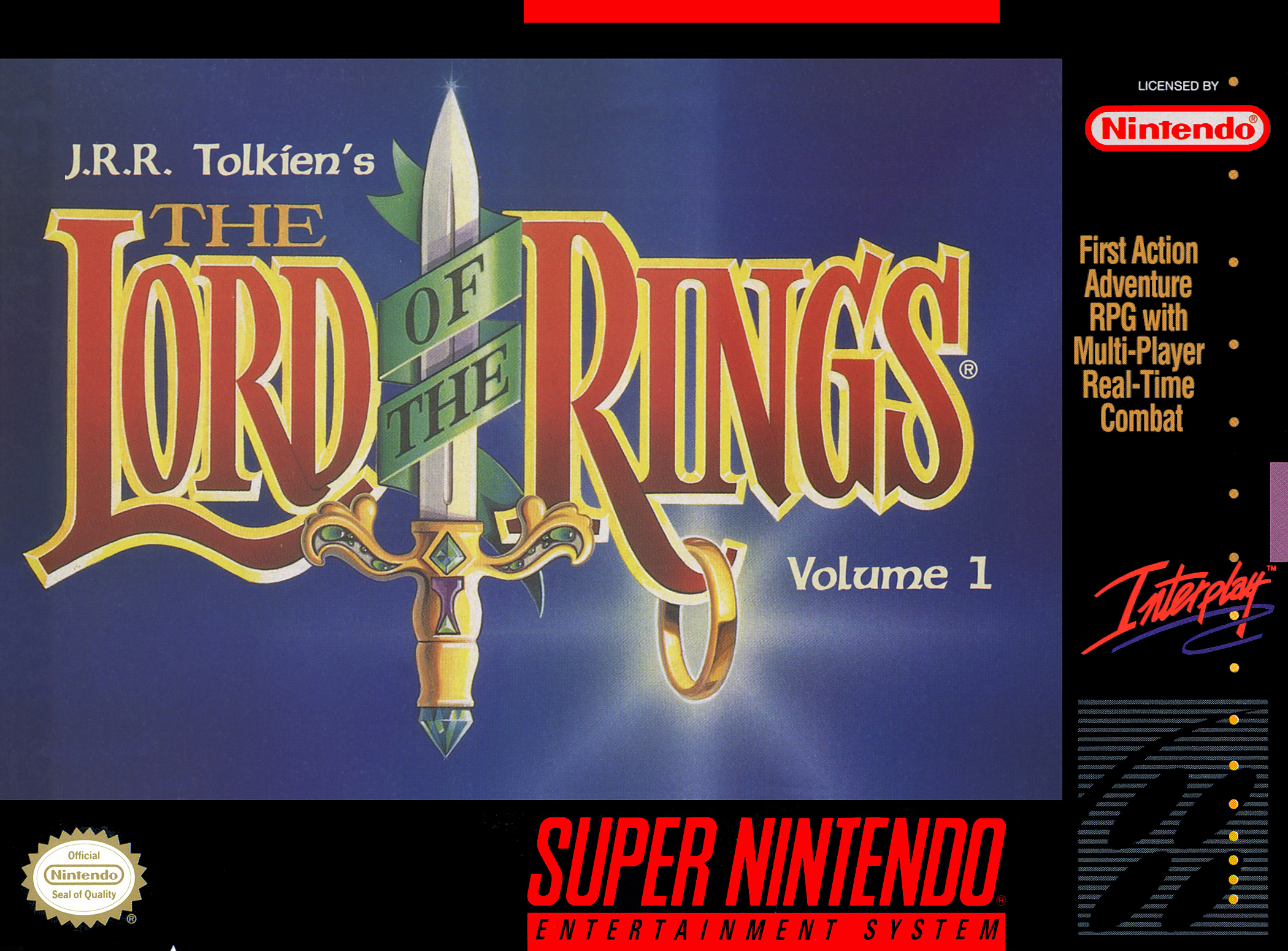 J.R.R. Tolkien's The Lord of the Rings/SNES