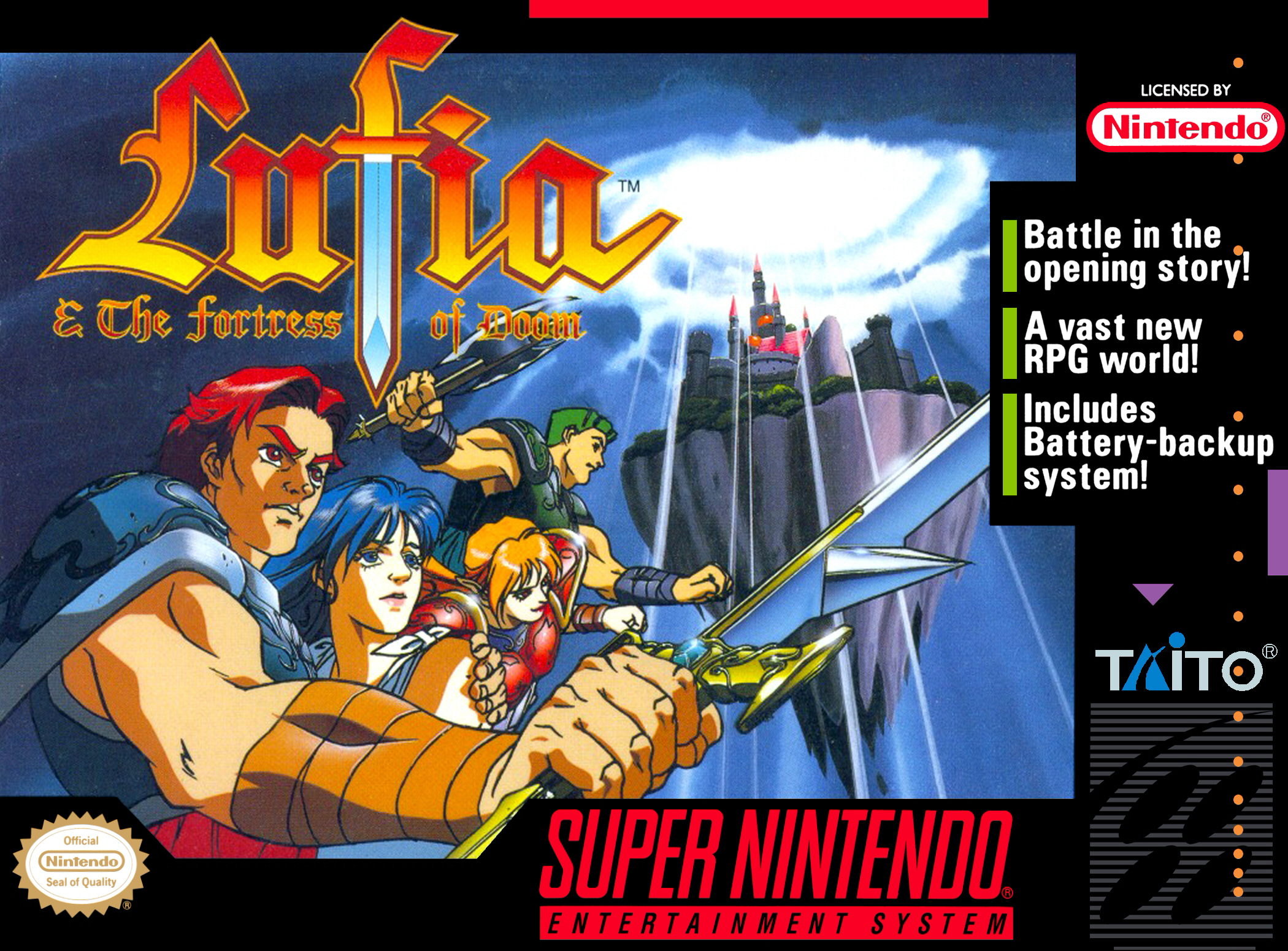 Lufia & The Fortress of Doom/SNES