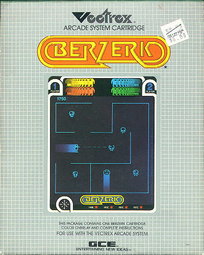 Berzerk/Vectrex