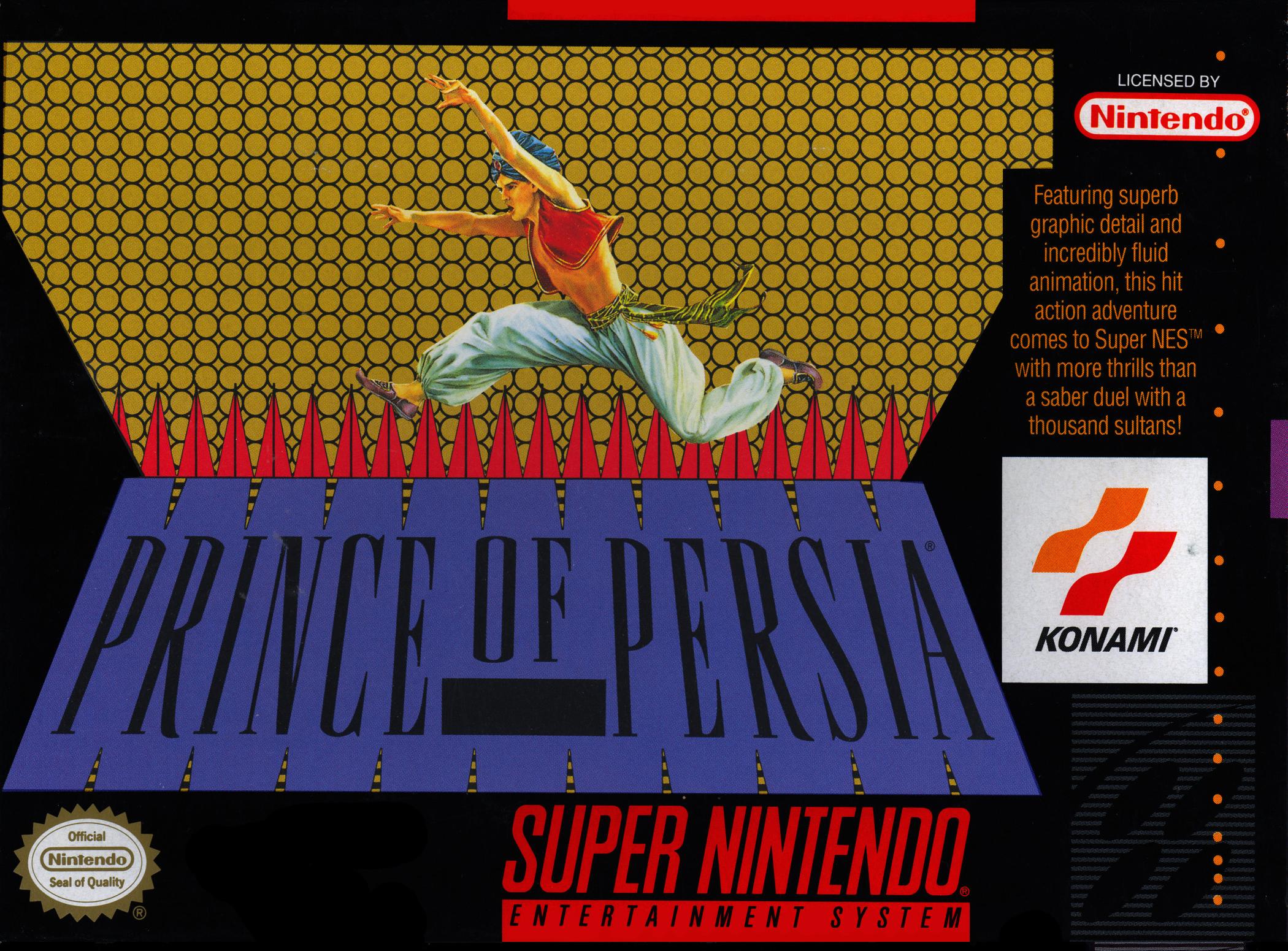 Prince of Persia/SNES