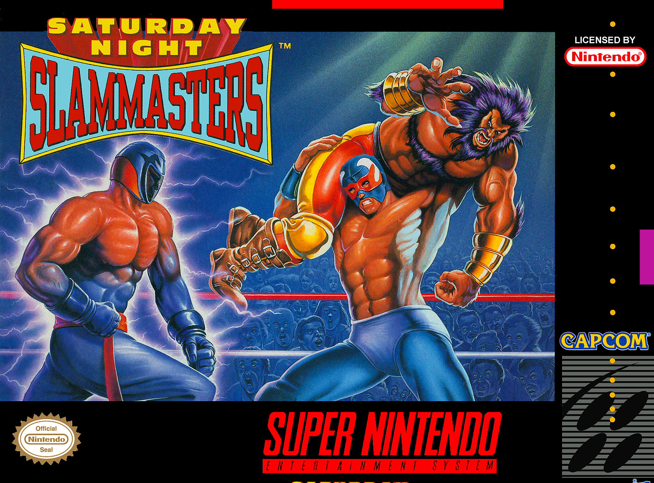 Saturday Night Slam Masters/SNES