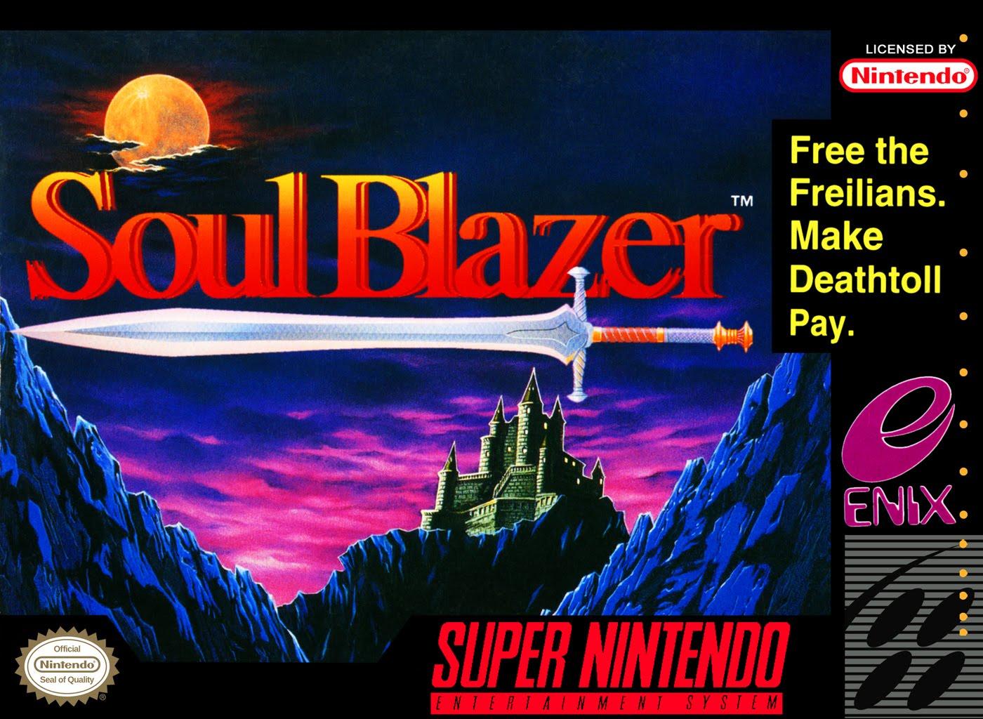 Soul Blazer/SNES
