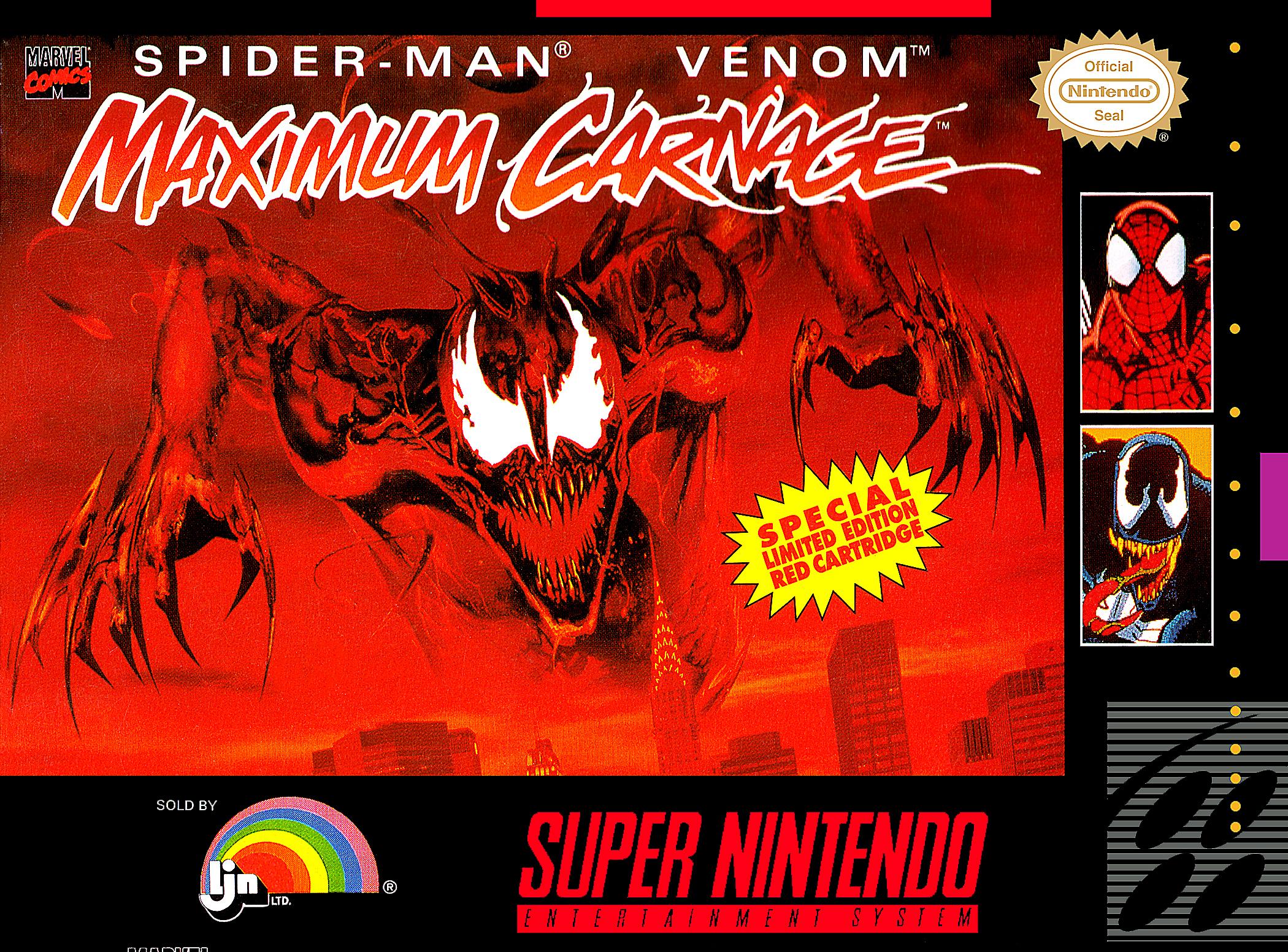 Spider-Man/Venom: Maximum Carnage/SNES