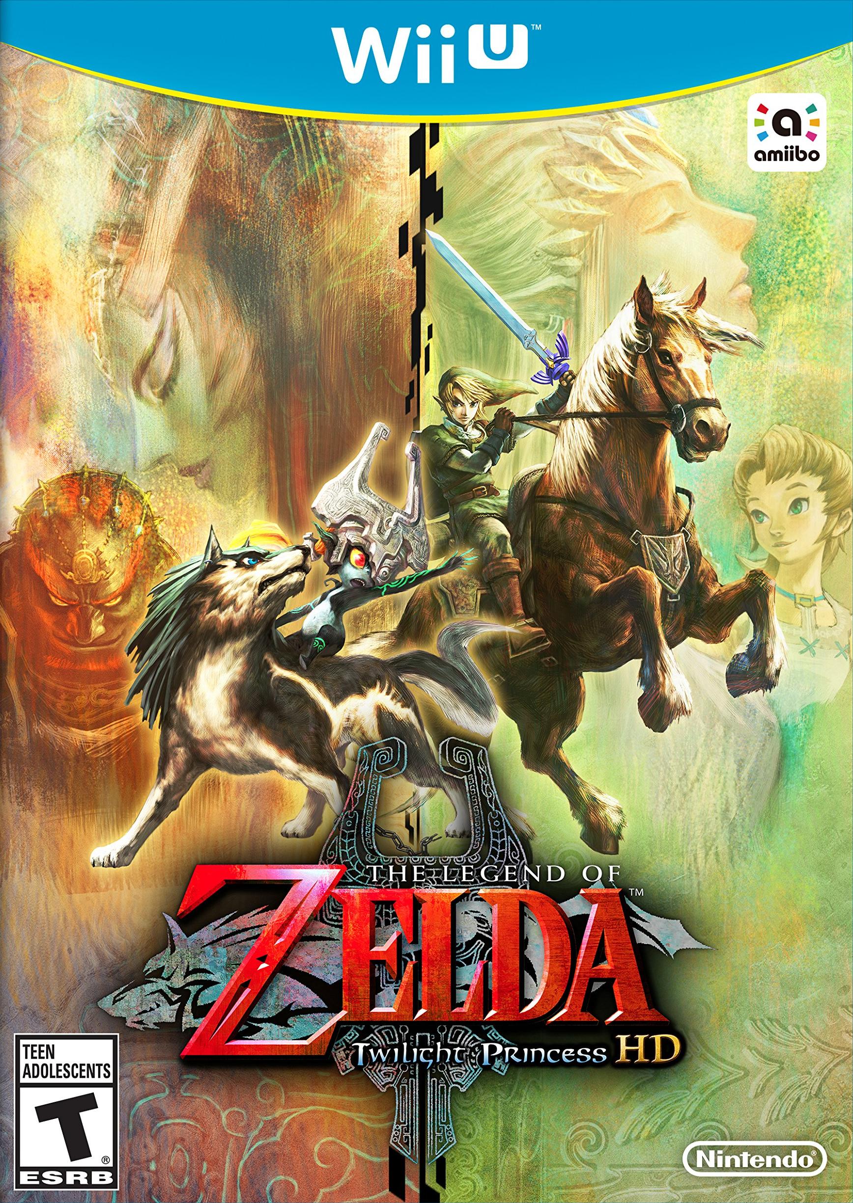 The Legend Of Zelda Twilight Princess HD Sans Amiibo/Wii U