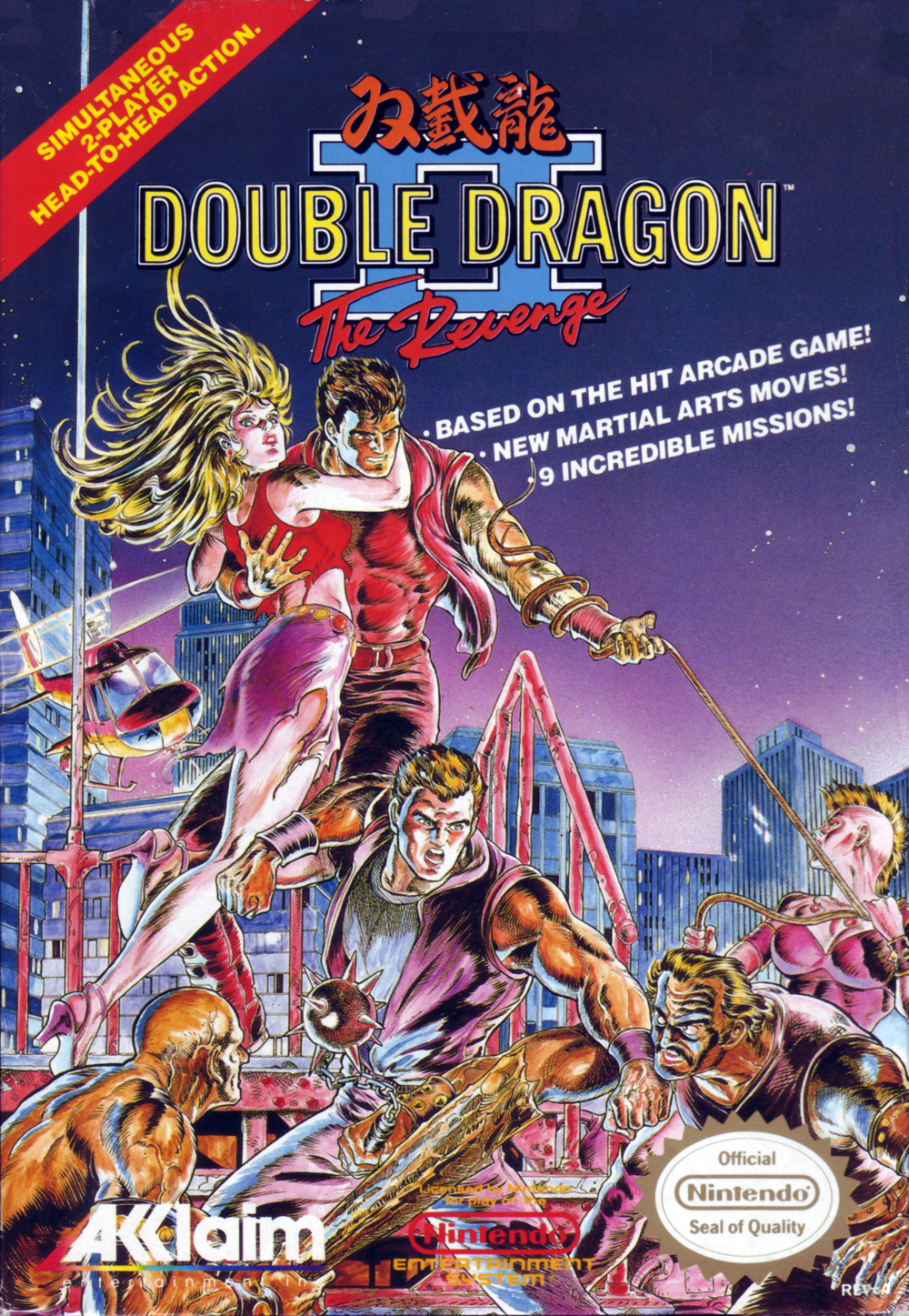 Double Dragon II The Revenge/NES