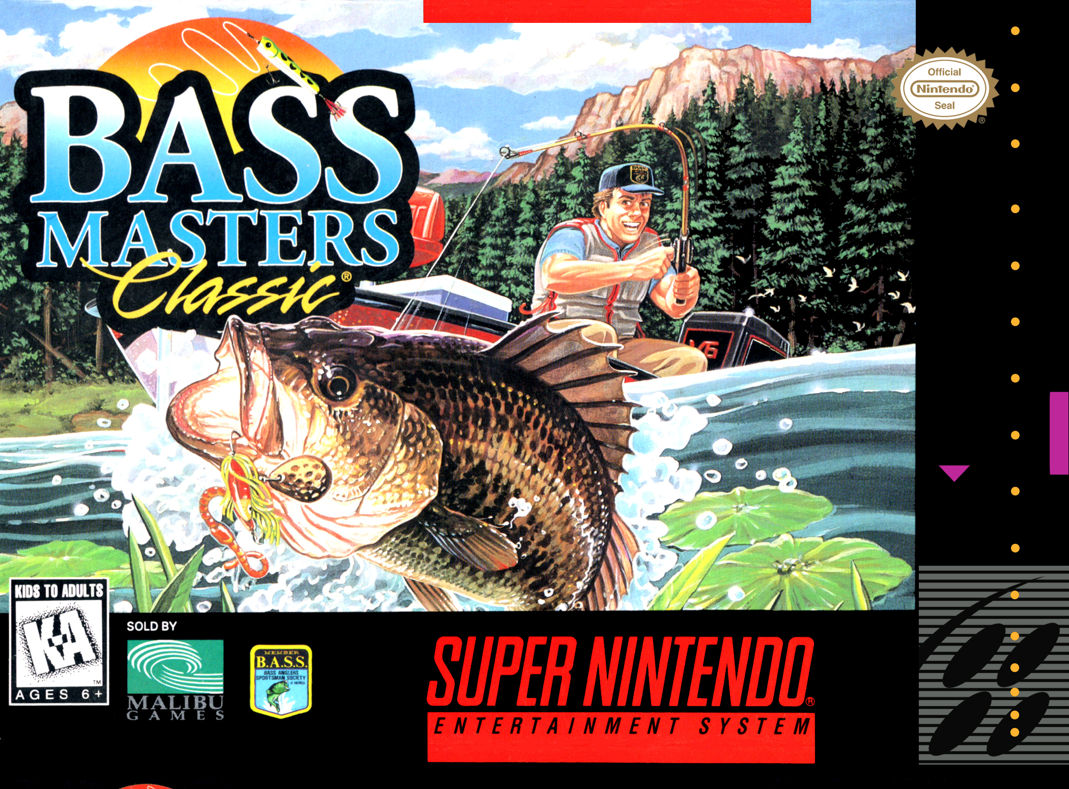 Bass Masters Classic - Pro Edition - ROMs Free Download