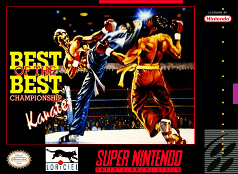Best Of The Best Championship Karate/SNES