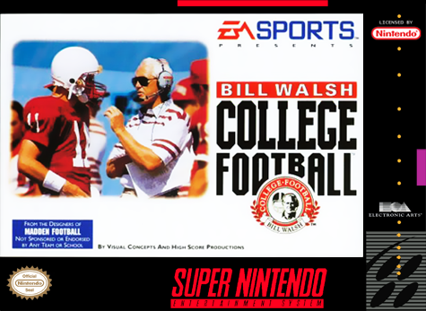 Bill Walsh College Football/SNES