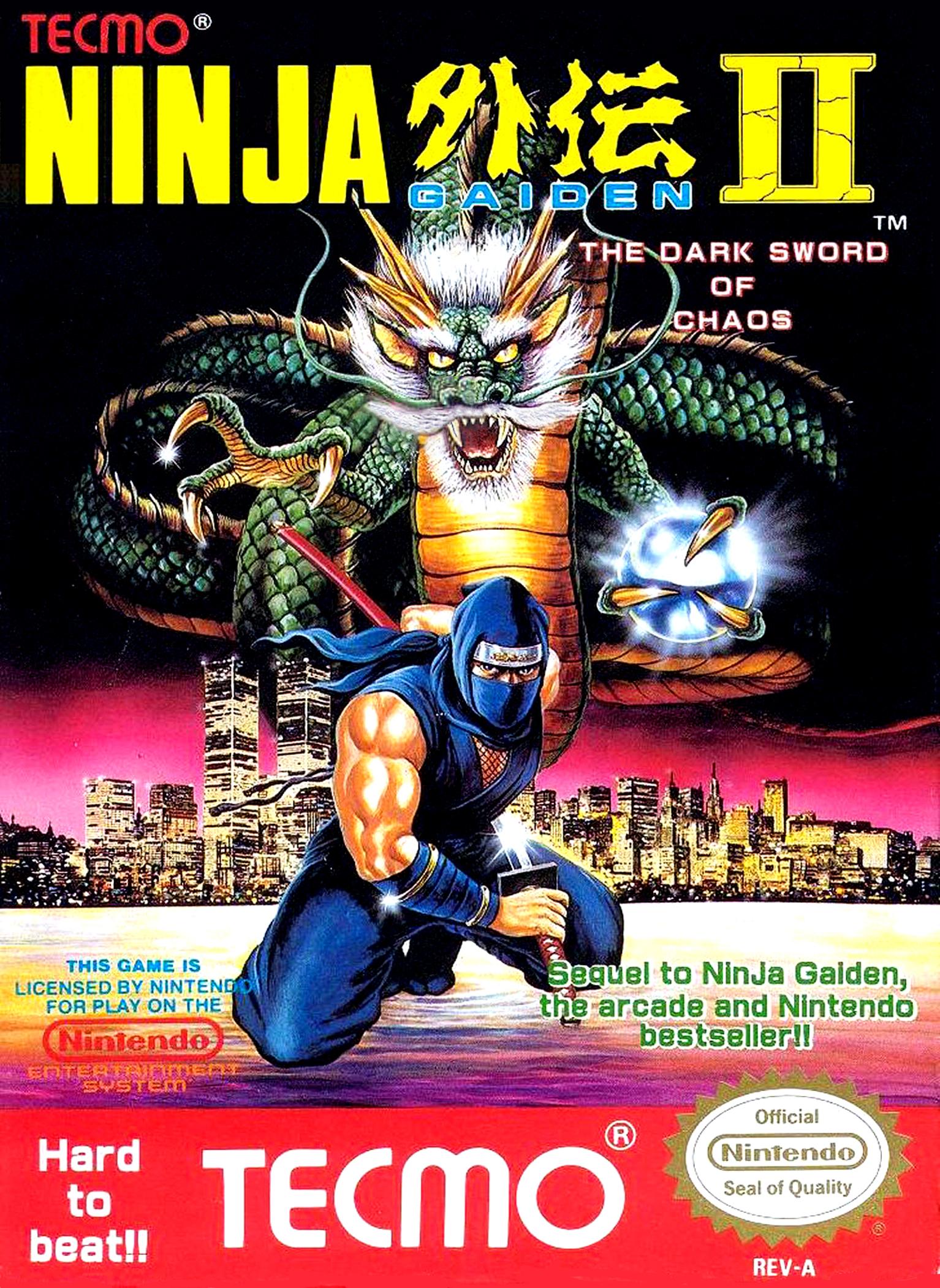 Ninja Gaiden II The Dark Sword of Chaos/NES