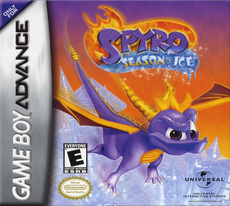 Spyro Season Of Ice/GBA