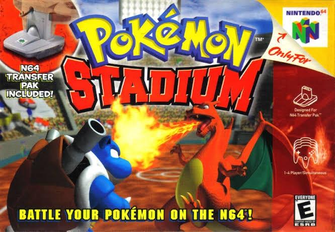 Pokemon Stadium/N64