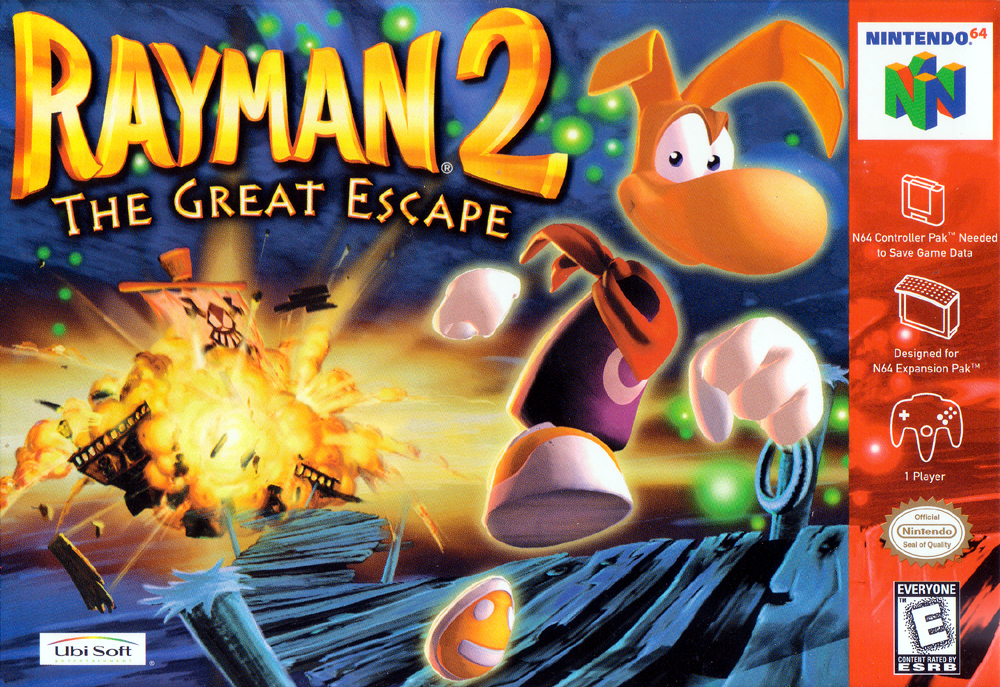 Rayman 2 The Great Escape/N64