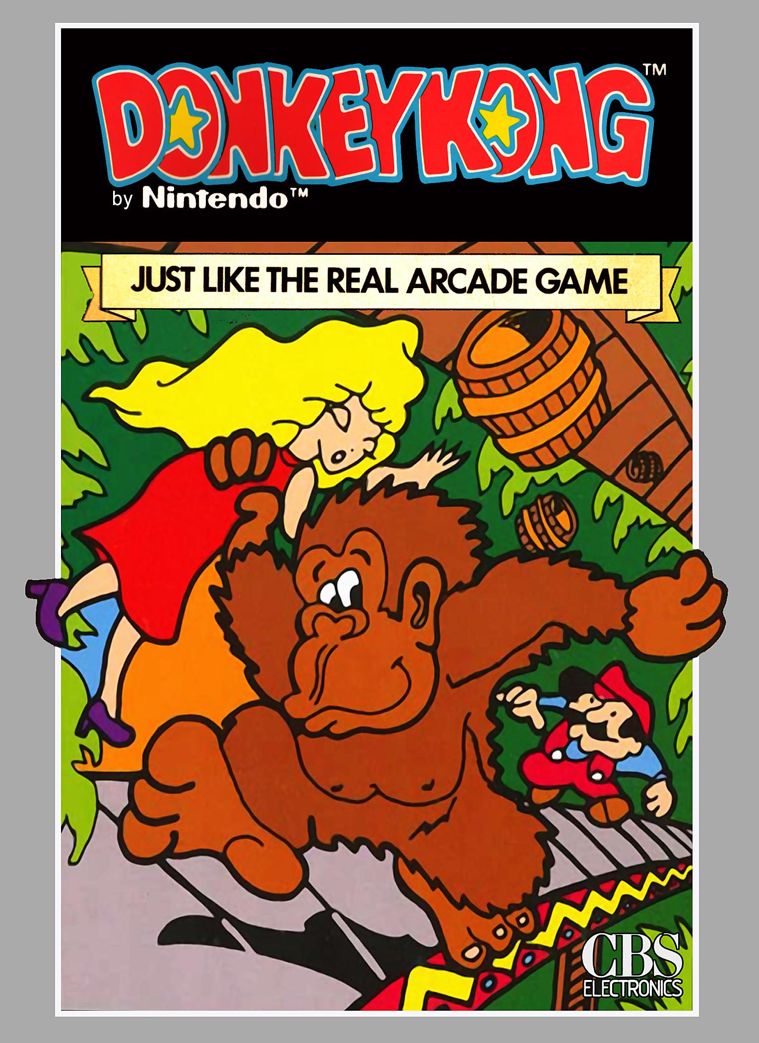 Donkey Kong/Colecovision