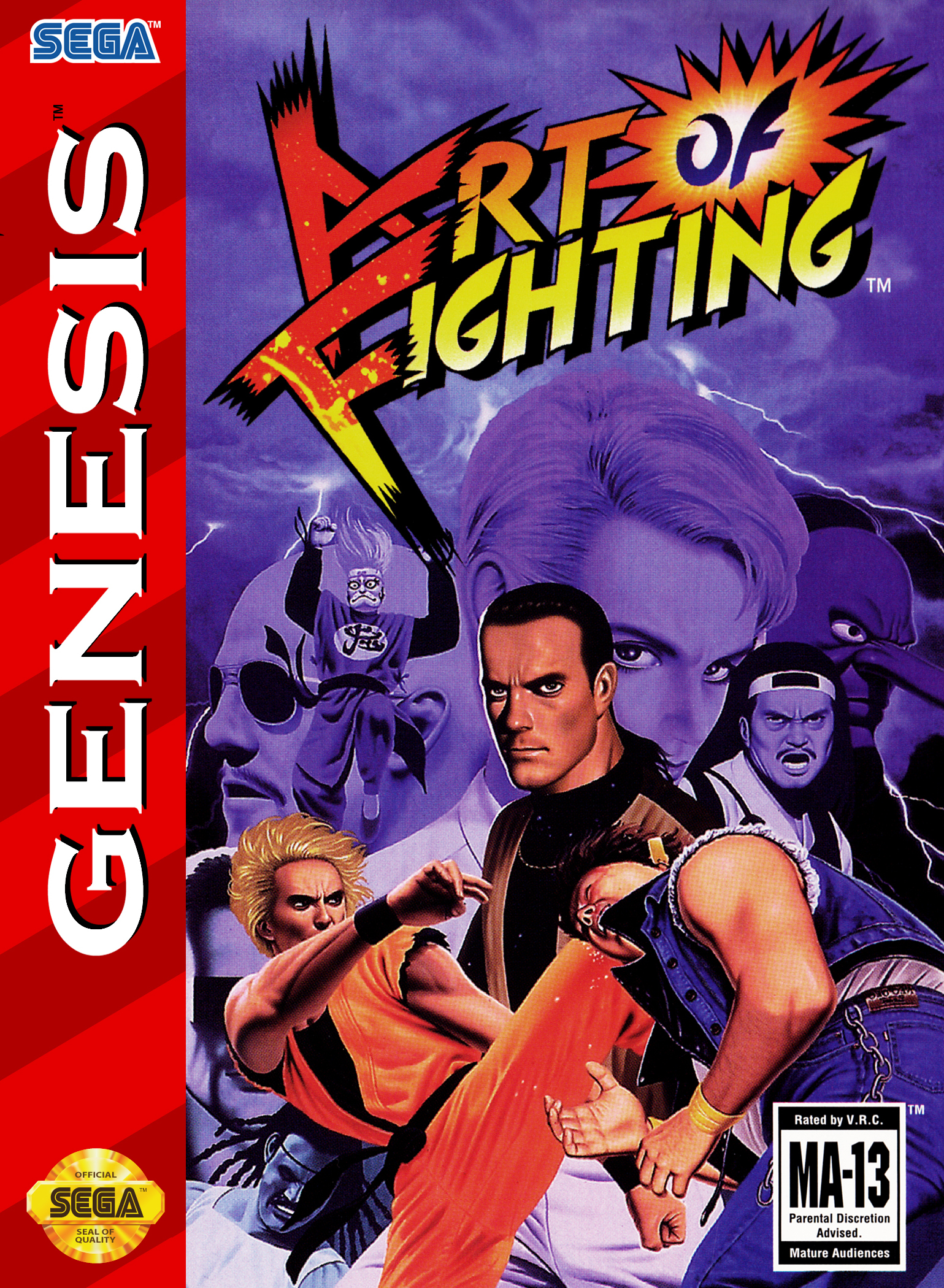 Tgdb Browse Game Art Of Fighting