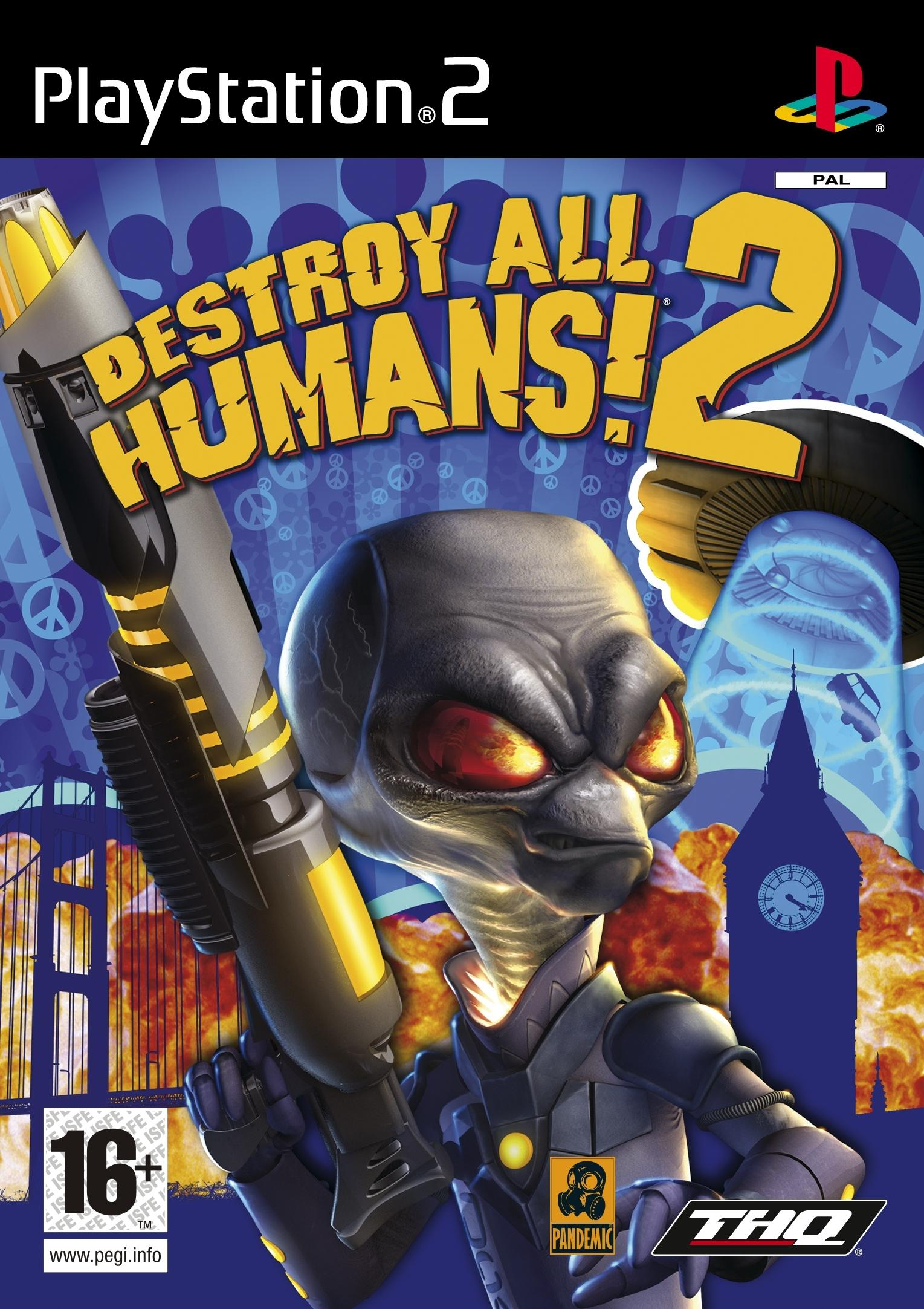 Destroy All Humans 2/PS2