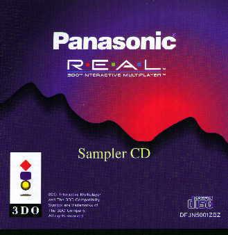 Panasonic Real 3DO Ineractive Multiplayer Sampler CD/3DO