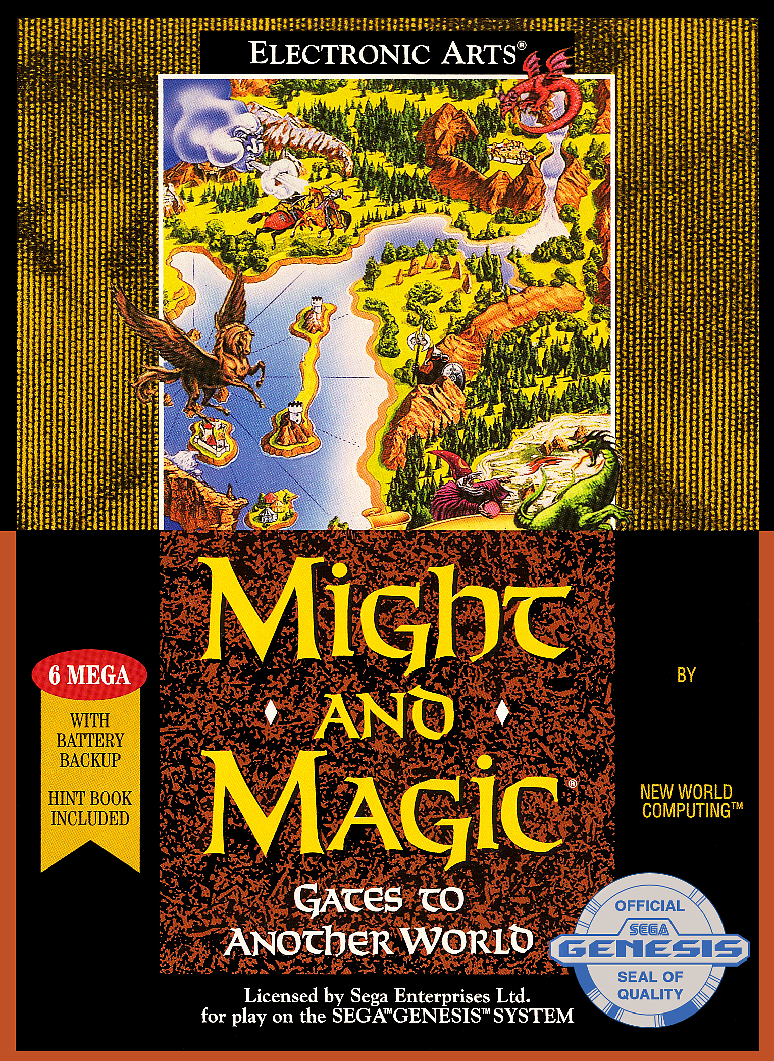 Might & Magic Gates to Another World/Genesis